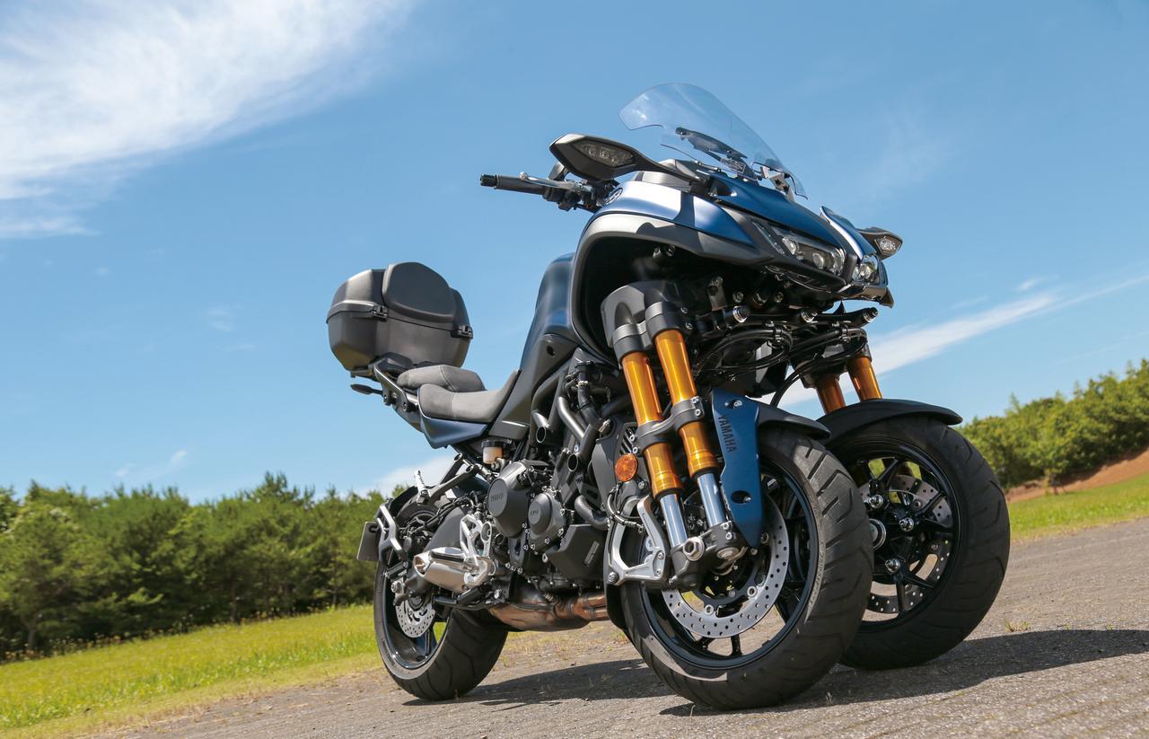 Images : 2番目の画像 - 「ロングランの快適性を一層高めた3輪GTツアラー!『YAMAHA NIKEN GT』(2019年) #試乗インプレ」のアルバム - LAWRENCE - Motorcycle x Cars + α = Your Life.