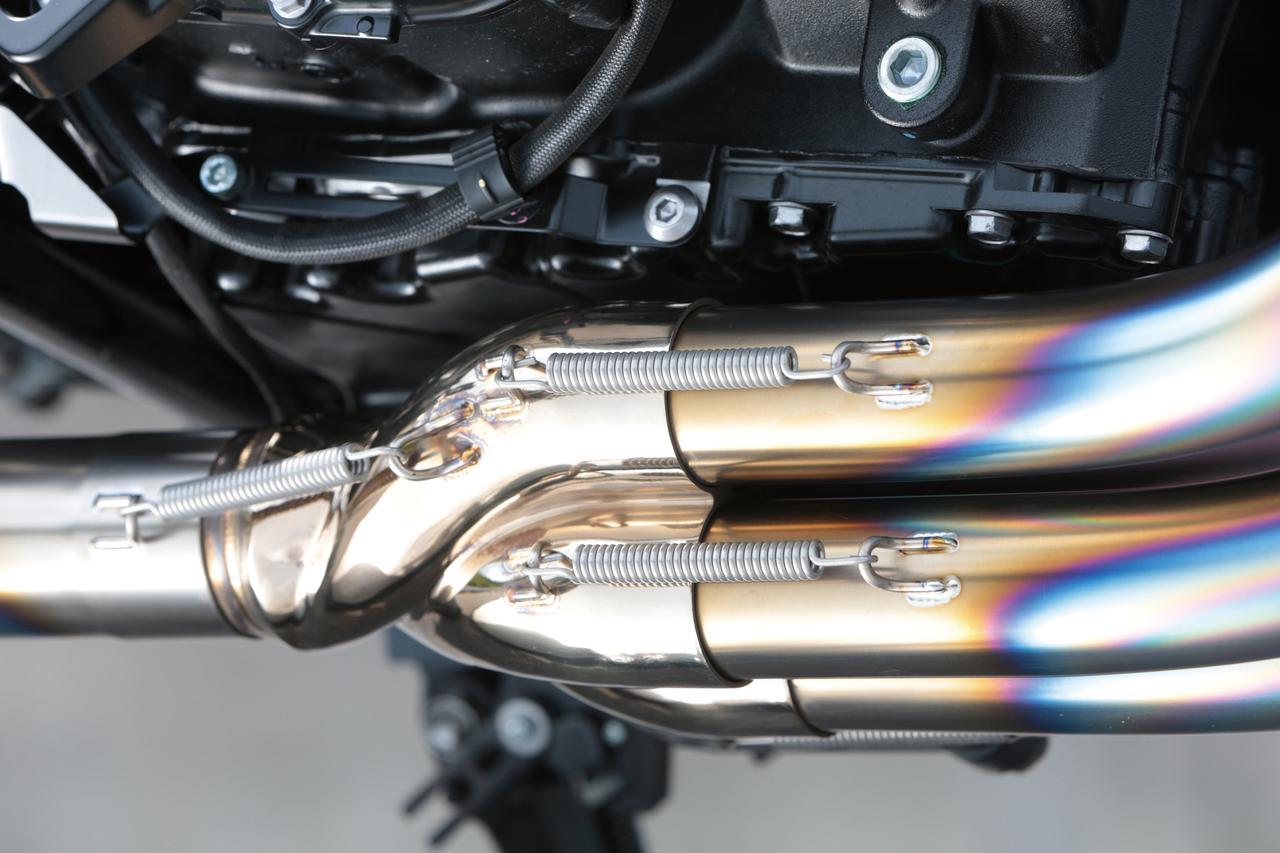 Images : 2番目の画像 - 「独自の4→1集合方式でパワー炸裂!『NOJIMA GTシリーズ DLCチタンフルエキゾースト』」のアルバム - webオートバイ