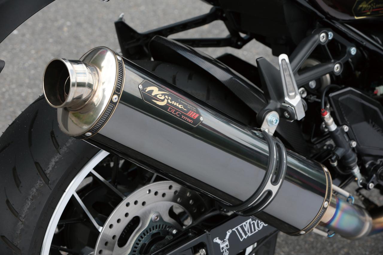 Images : 3番目の画像 - 「独自の4→1集合方式でパワー炸裂!『NOJIMA GTシリーズ DLCチタンフルエキゾースト』」のアルバム - webオートバイ