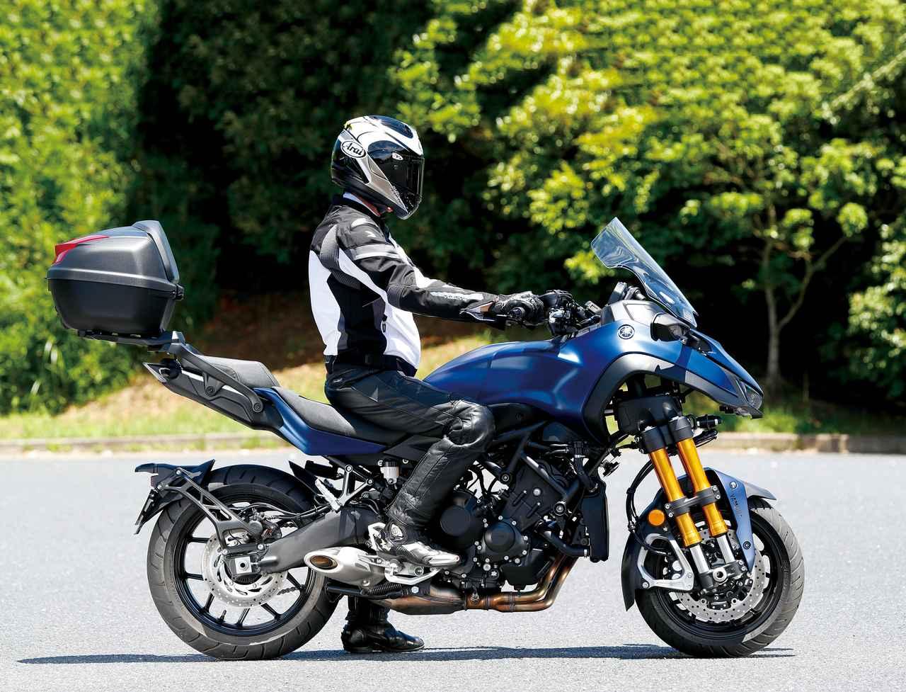 Images : 13番目の画像 - 「ロングランの快適性を一層高めた3輪GTツアラー!『YAMAHA NIKEN GT』(2019年) #試乗インプレ」のアルバム - LAWRENCE - Motorcycle x Cars + α = Your Life.