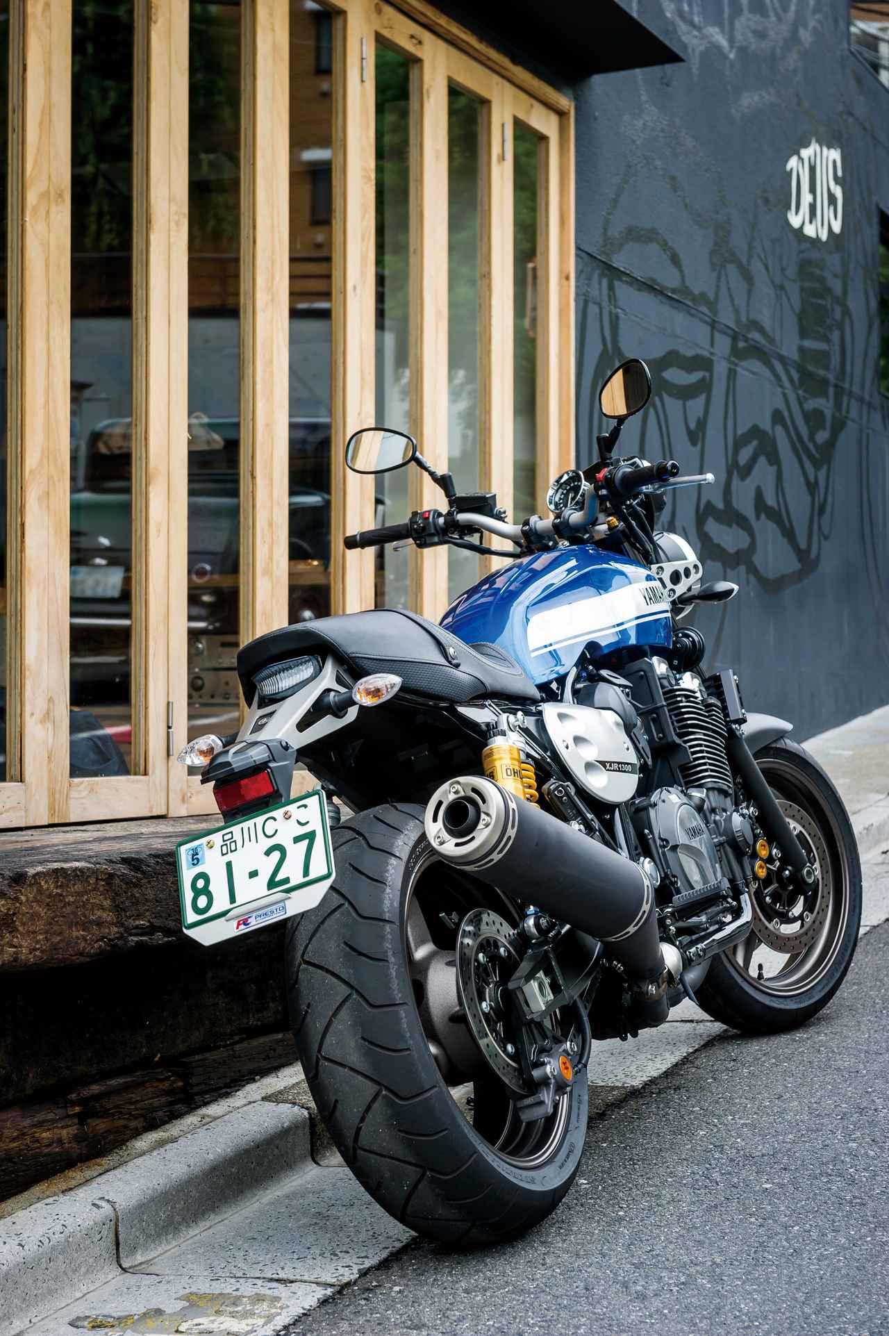 Images : 2番目の画像 - 「モダンクラシックの世界へようこそ『YAMAHA XJR1300C』(2015年) #試乗インプレ」のアルバム - webオートバイ