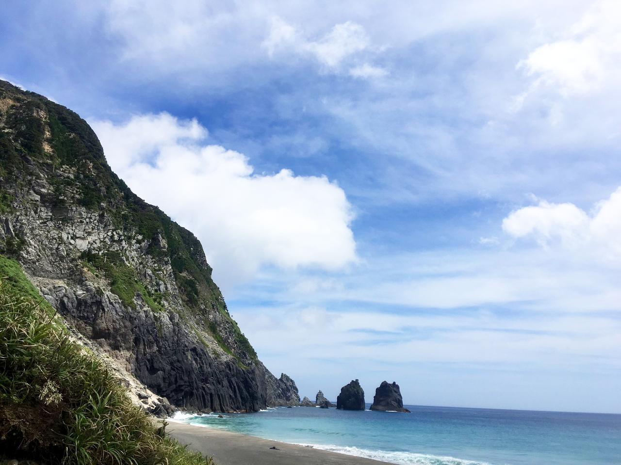 画像: 淡井浦海岸