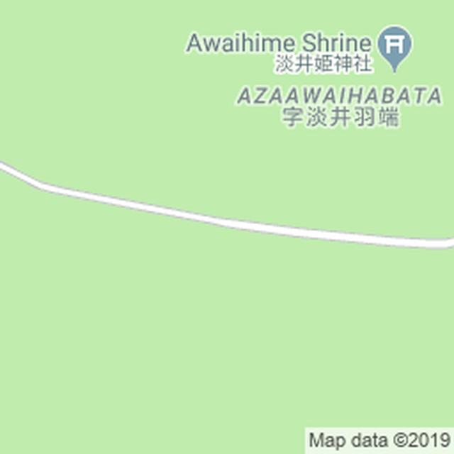 画像: Map 淡井浦海岸
