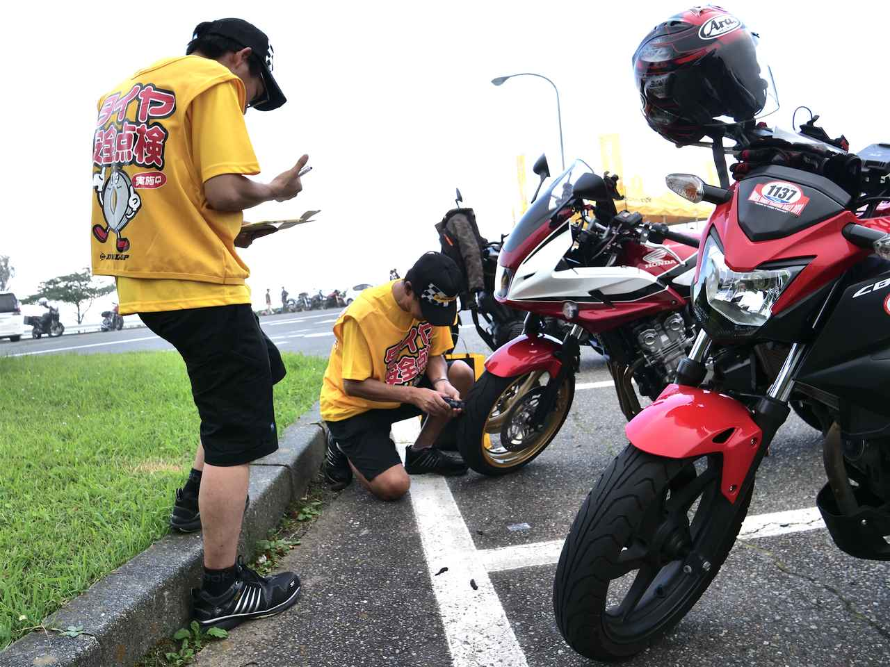 画像3: タイヤ点検を通じて『事故のない毎日をつくりたい。』