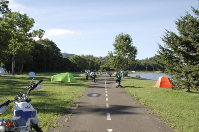 画像: 網走市の呼人浦(よびとうら)キャンプ場。ここも無料です!