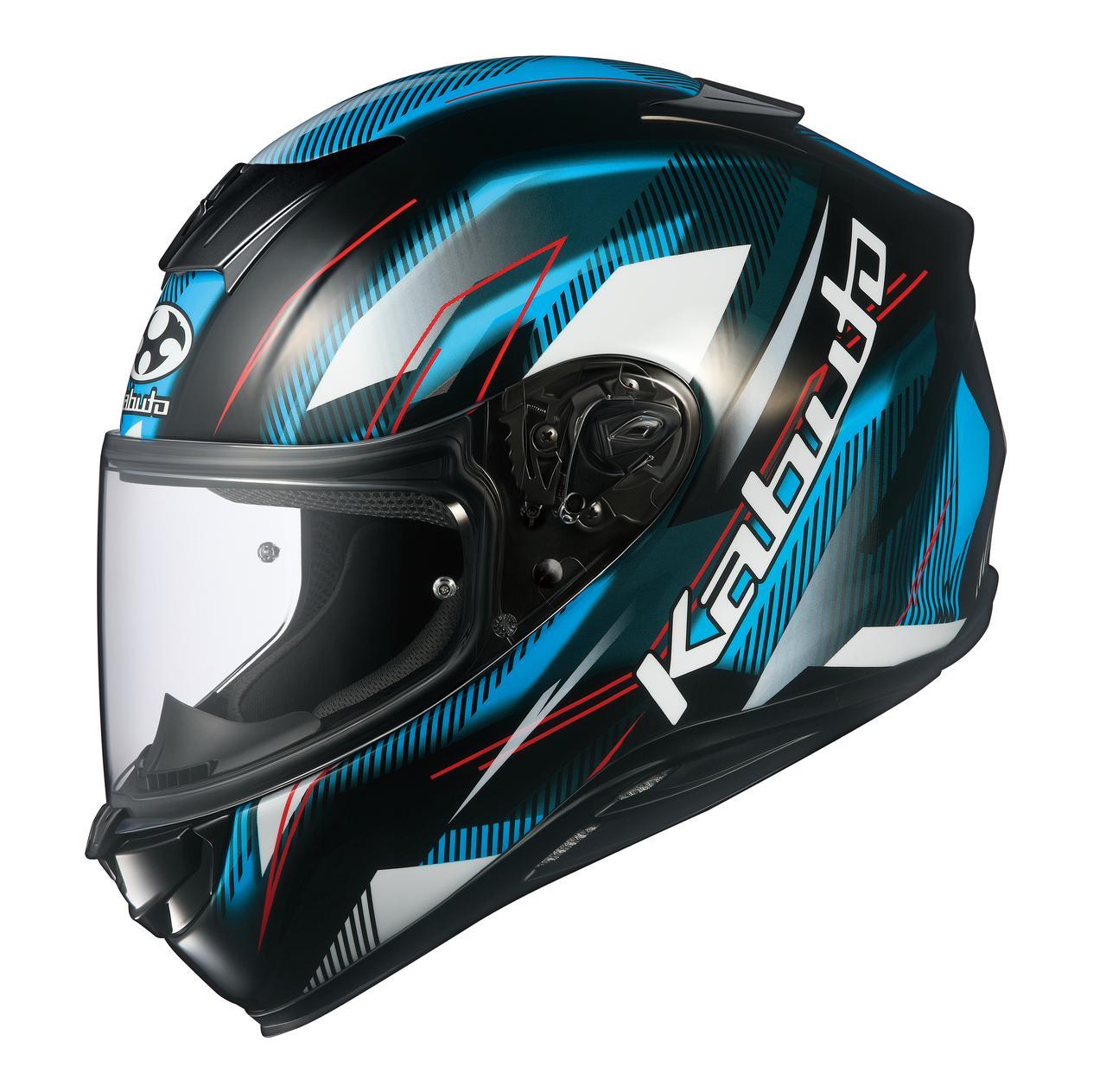 画像2: Kabutoのフルフェイスヘルメット「エアロブレード・5 ゴー」が新登場!カラーは全3色!
