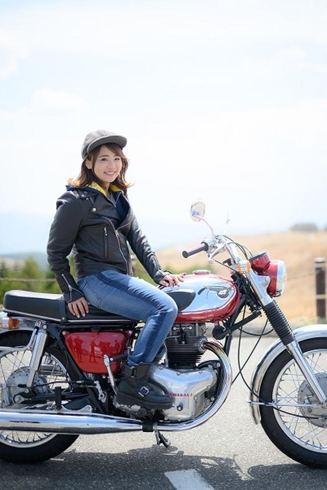 画像: 「 最新『W』は原点のW1から、どう進化した? 」 平嶋夏海さんのコメントも掲載されています! special.kawasaki-motors.com
