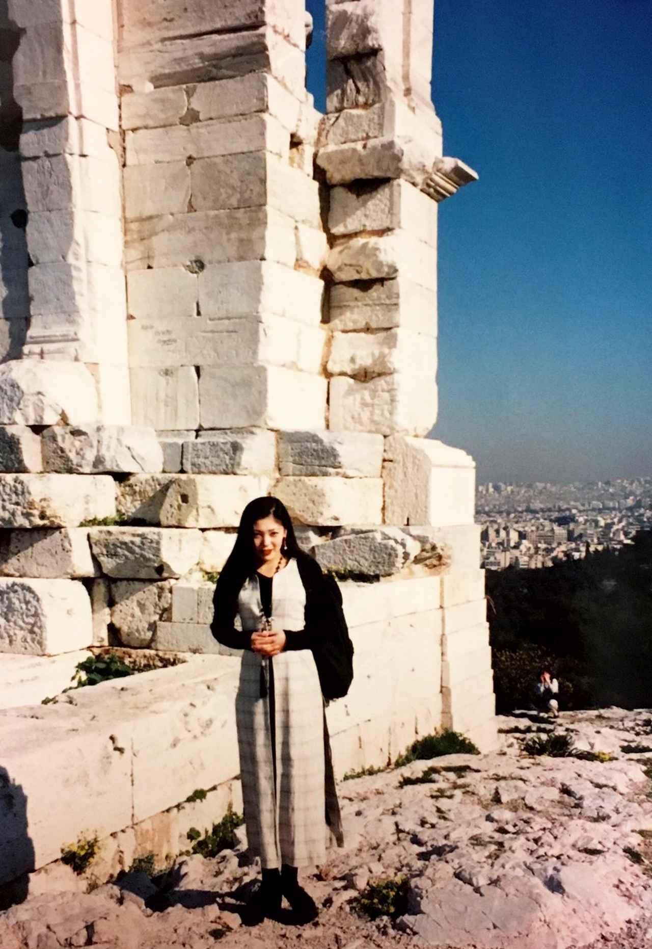 画像: 25年前に旅したギリシャ。新島では、いたるところで、この旅を思い出しました。旅はつながっている。