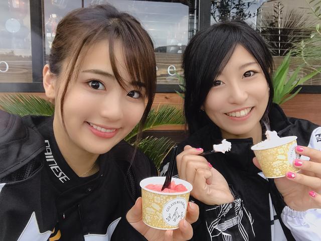 画像2: 静夏ちゃんはアイスが好き!?