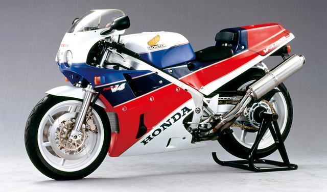 画像: ホンダ VFR750R(1987年)