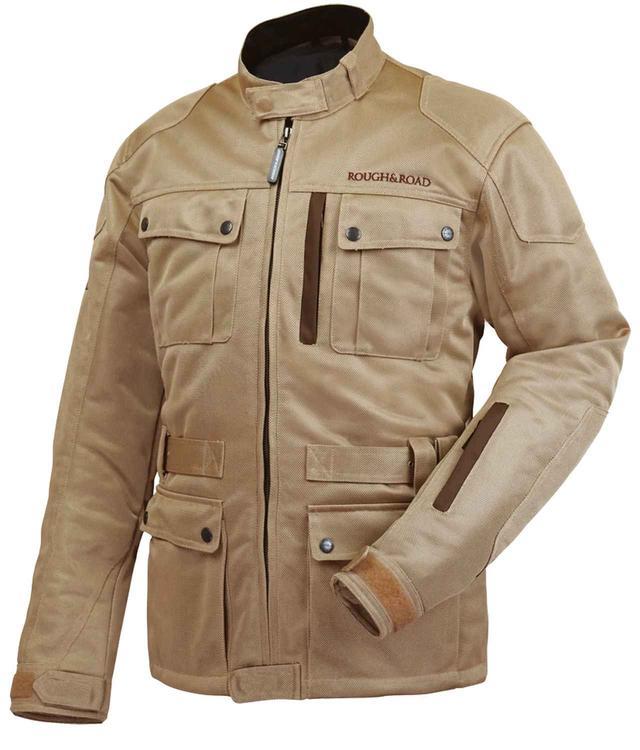 画像: 予想外の寒さに対応する、ラフ&ロードのインナー付きメッシュジャケット - webオートバイ
