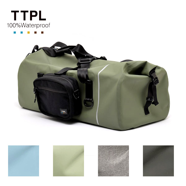 画像: TTPL 完全防水ツーリングバッグ touring60-モーターマガジン Web Shop