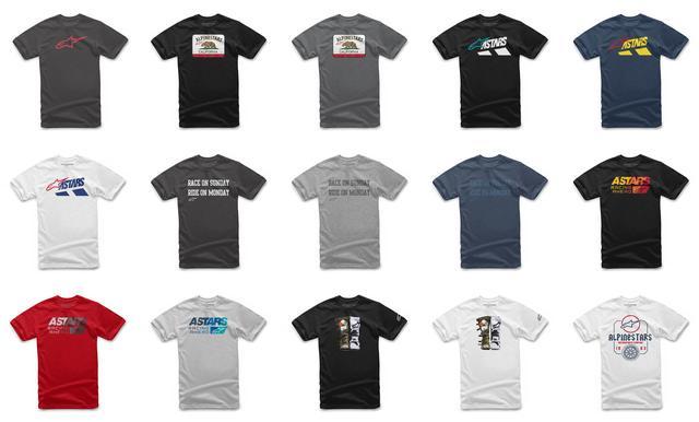 画像1: こんなにあったら選べない!? アルパインスターズの新作〈Tシャツ〉コレクション、あなたはどのデザインが好み?