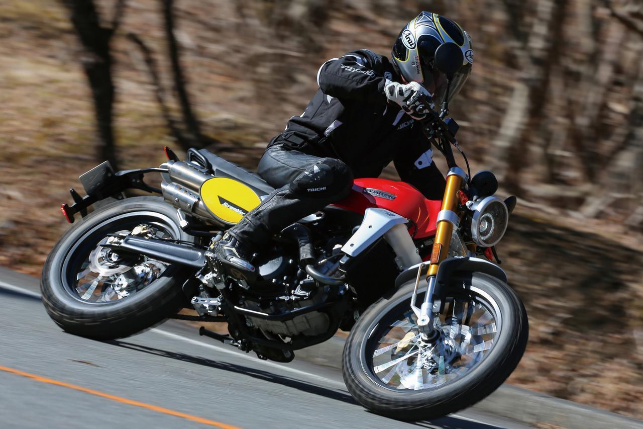 画像1: 日本に上陸したばかりのキャバレロ「スクランブラー250」を試乗インプレ! - webオートバイ
