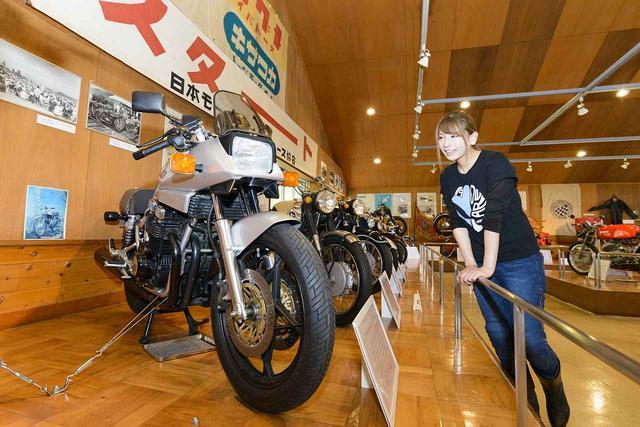 画像: 群馬県長野原町 浅間記念館でスズキGSX1100S KATANAと。