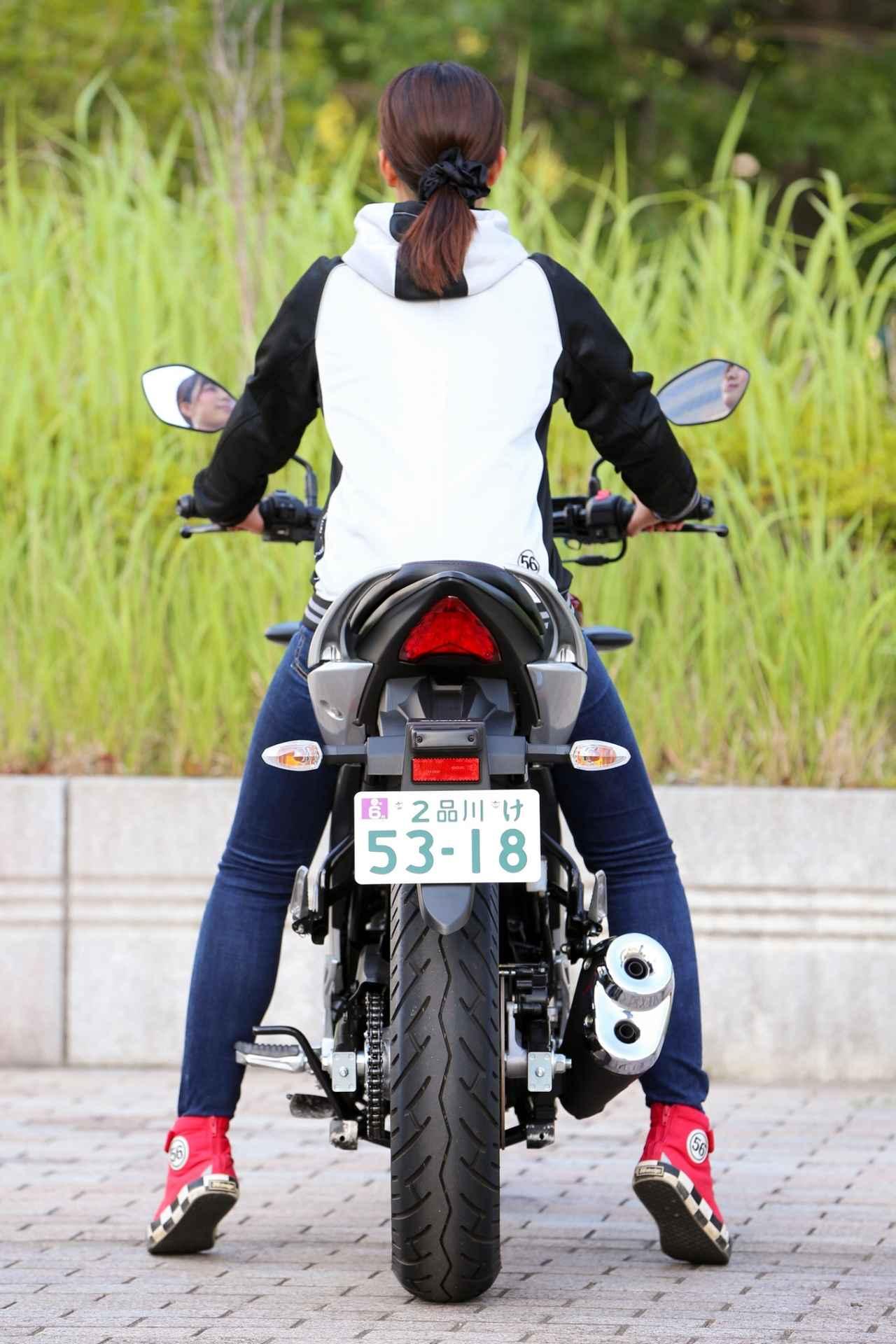 画像3: 「150ccとは思えない!かっこいい!」。 それがジクサーに乗って一番感じた事でした。