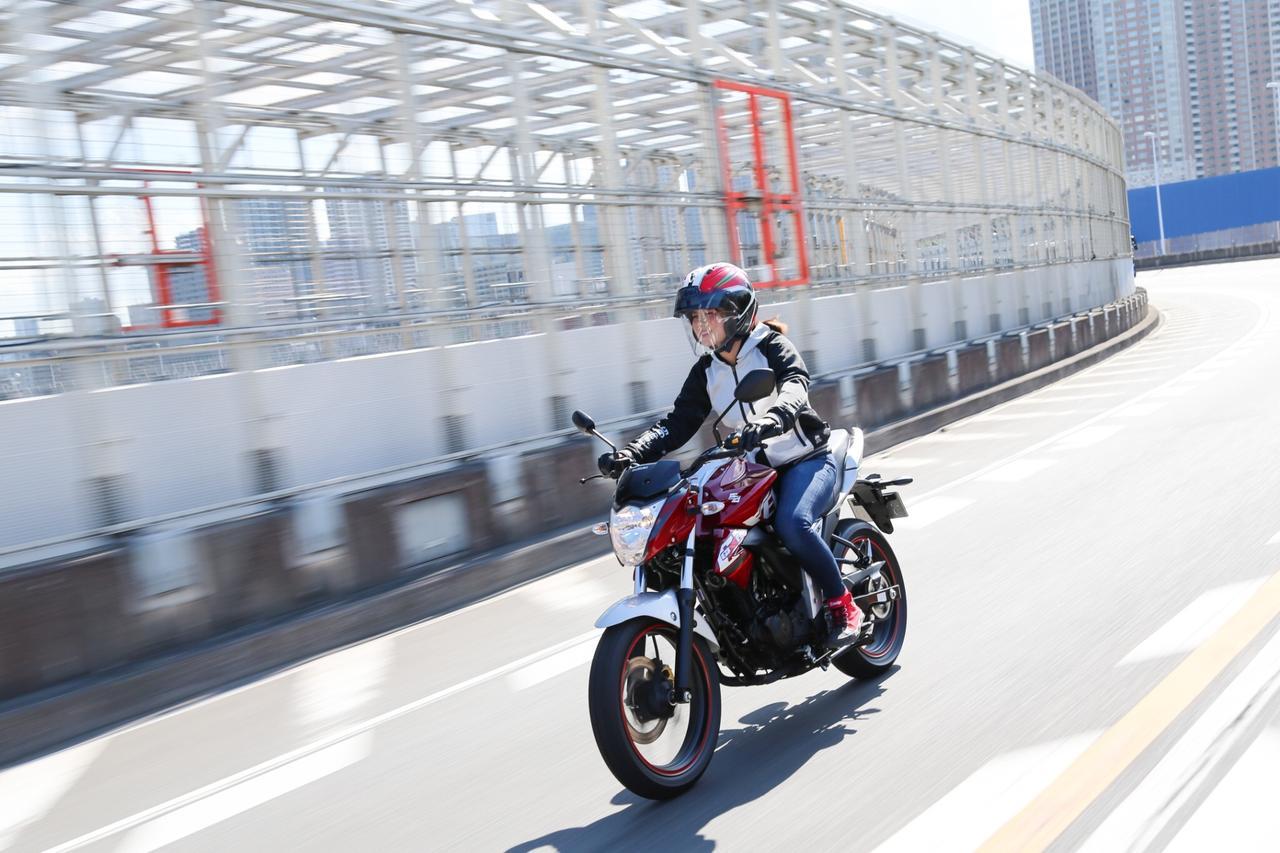 画像9: 「150ccとは思えない!かっこいい!」。 それがジクサーに乗って一番感じた事でした。