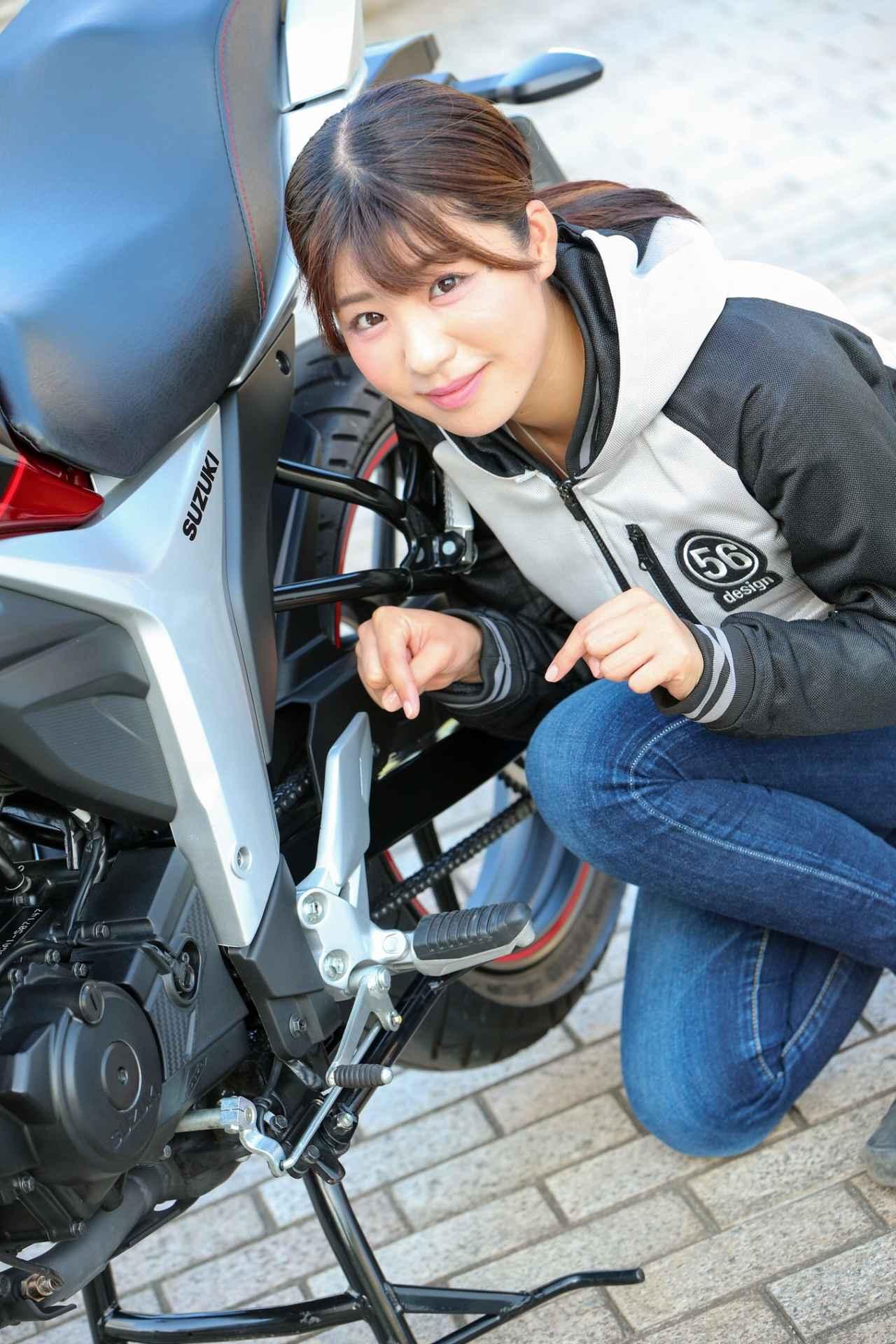 画像6: 「150ccとは思えない!かっこいい!」。 それがジクサーに乗って一番感じた事でした。