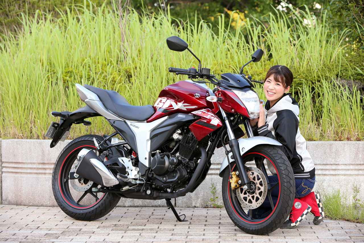 Images : 4番目の画像 - ほぼ月刊「梅本まどかとオートバイ」vol.20 SUZUKI GIXXER - webオートバイ