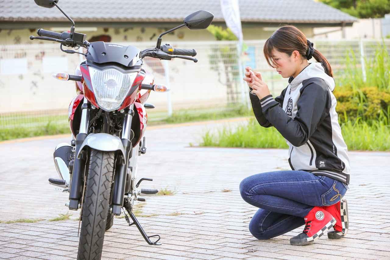 Images : 10番目の画像 - ほぼ月刊「梅本まどかとオートバイ」vol.20 SUZUKI GIXXER - webオートバイ