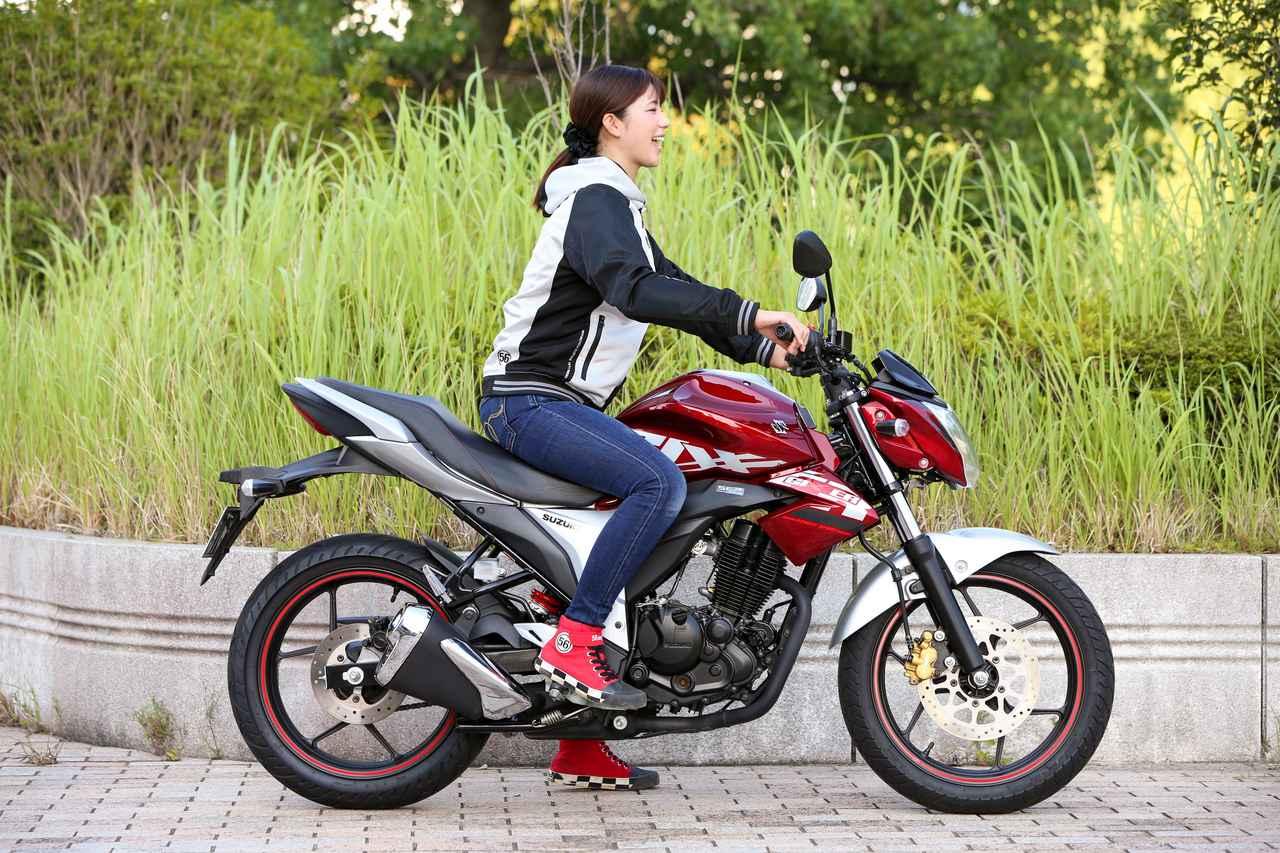 Images : 5番目の画像 - ほぼ月刊「梅本まどかとオートバイ」vol.20 SUZUKI GIXXER - webオートバイ