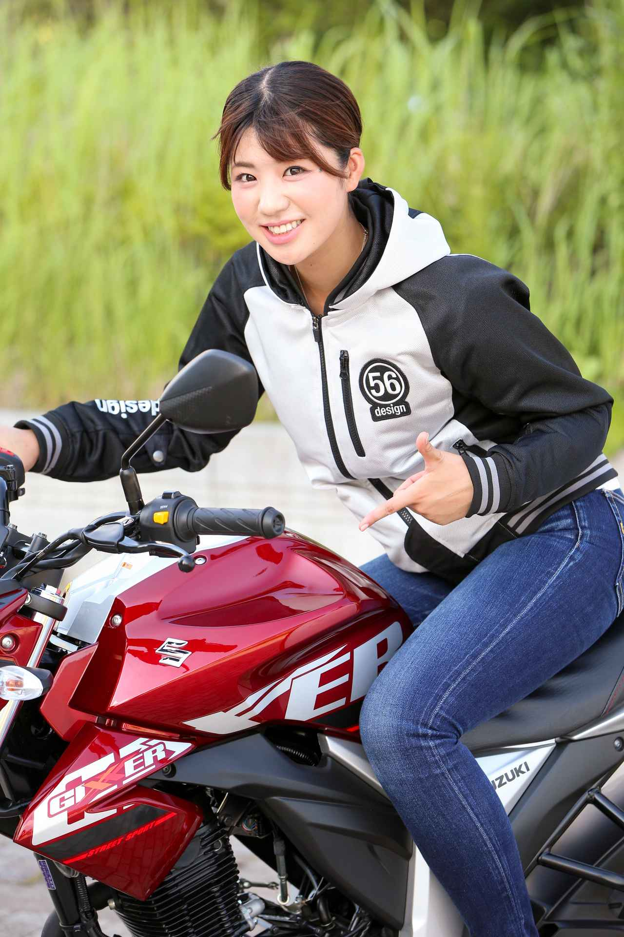 Images : 3番目の画像 - ほぼ月刊「梅本まどかとオートバイ」vol.20 SUZUKI GIXXER - webオートバイ