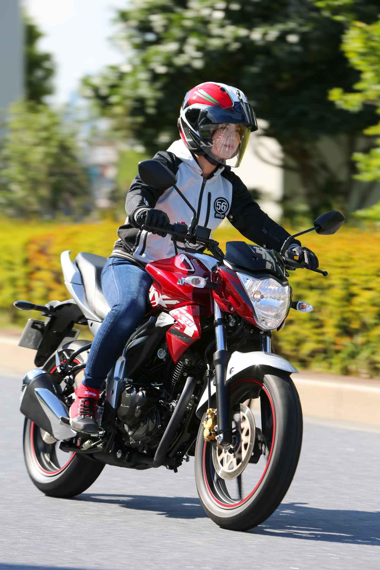 Images : 11番目の画像 - ほぼ月刊「梅本まどかとオートバイ」vol.20 SUZUKI GIXXER - webオートバイ