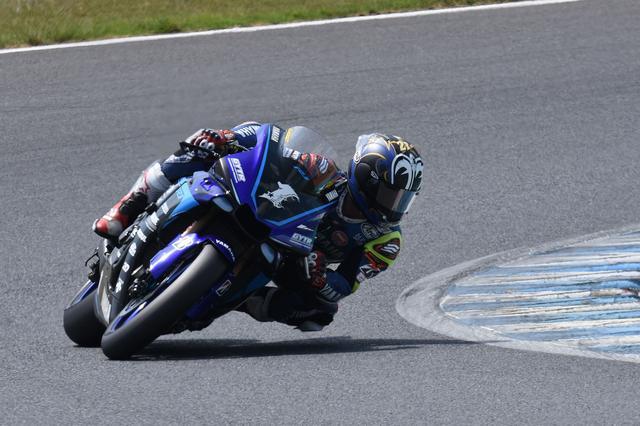 画像: シーズン前半戦、そして8耐とマシンのセッティングを見直していた、という中須賀 しかしモテギはヤマハが強い……