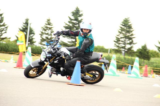 画像: 亀谷久美子選手(Cクラス)は北海道の選手です 私と同じグロムです♪(^^)