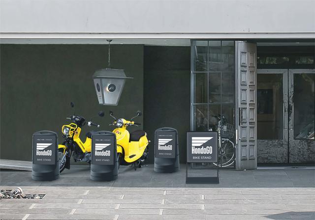 画像2: 「HondaGO BIKE STAND」は、50㏄原付の無料貸し出しサービス!