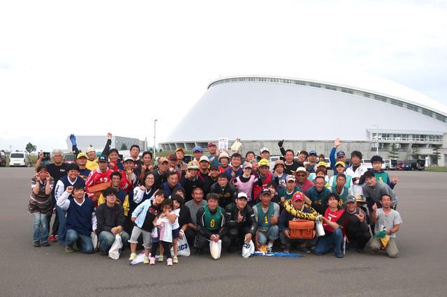 画像: 北海道も盛り上がってますよ〜!(^^)