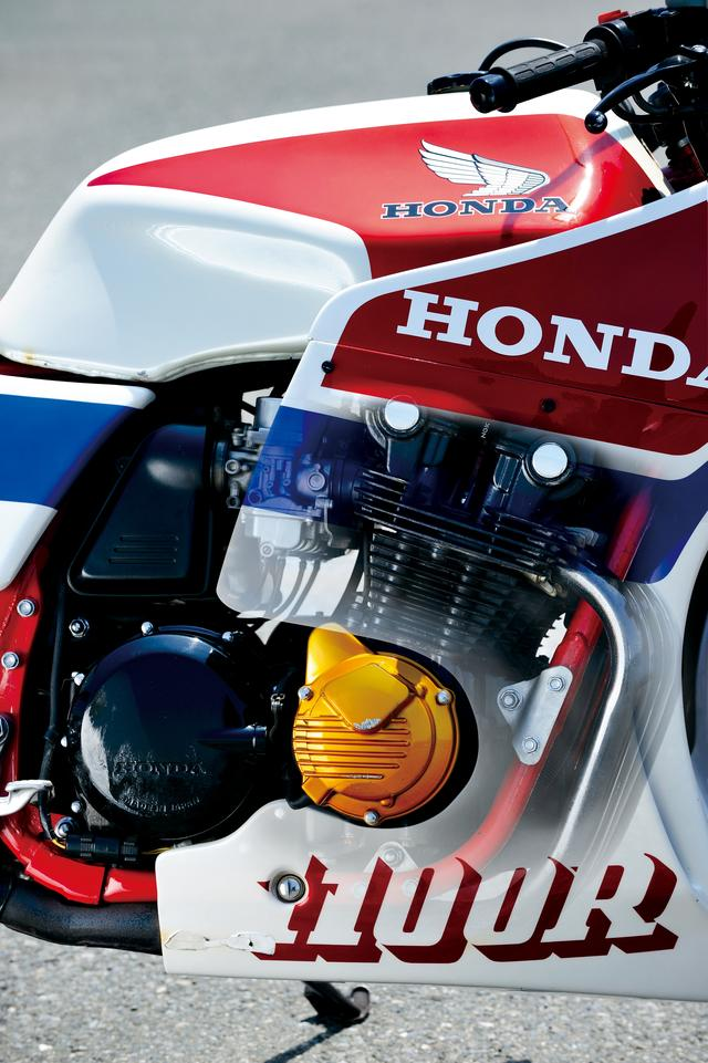 画像: 手作業で組み立てられたというエンジンは耐久レーサー、RS1000のノウハウが投入されたもの。