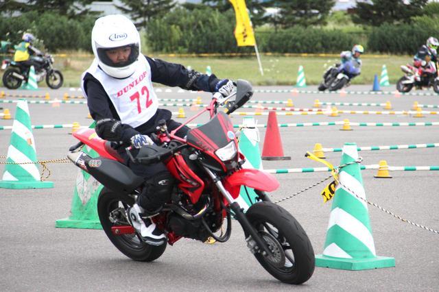 画像: Kidsクラス 迫田洋生選手(XR100)