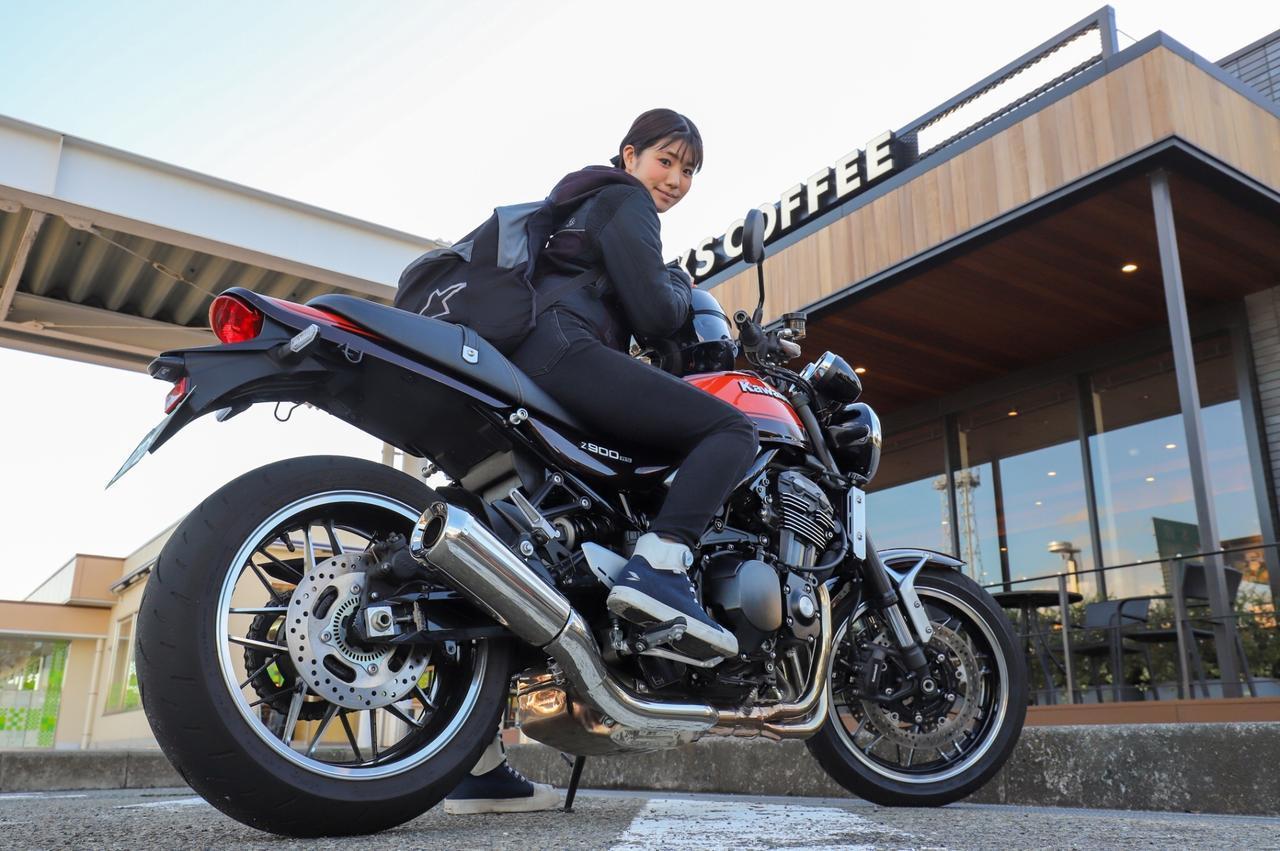 画像: ほぼ月刊「梅本まどかとオートバイ」vol.16 カワサキZ900RS - webオートバイ