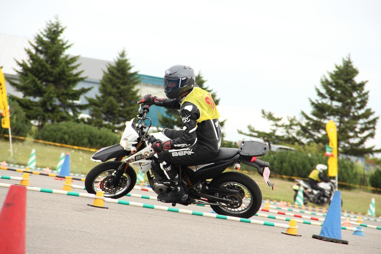 画像: Nクラス 鈴木一吉選手(Dトラッカー125)
