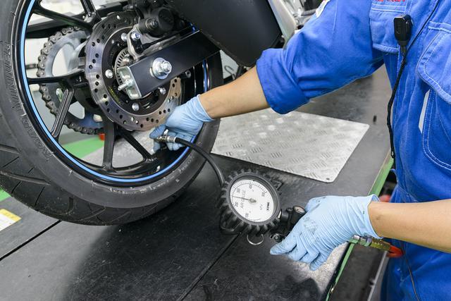 画像: 〈点検項目〉タイヤの状態