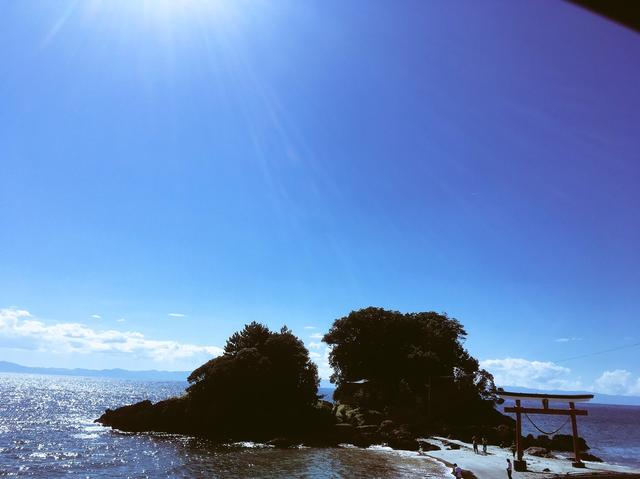 画像: 最南端へ向かう際は、鹿児島県鹿屋市の荒平天神(菅原神社)の景色もぜひ。