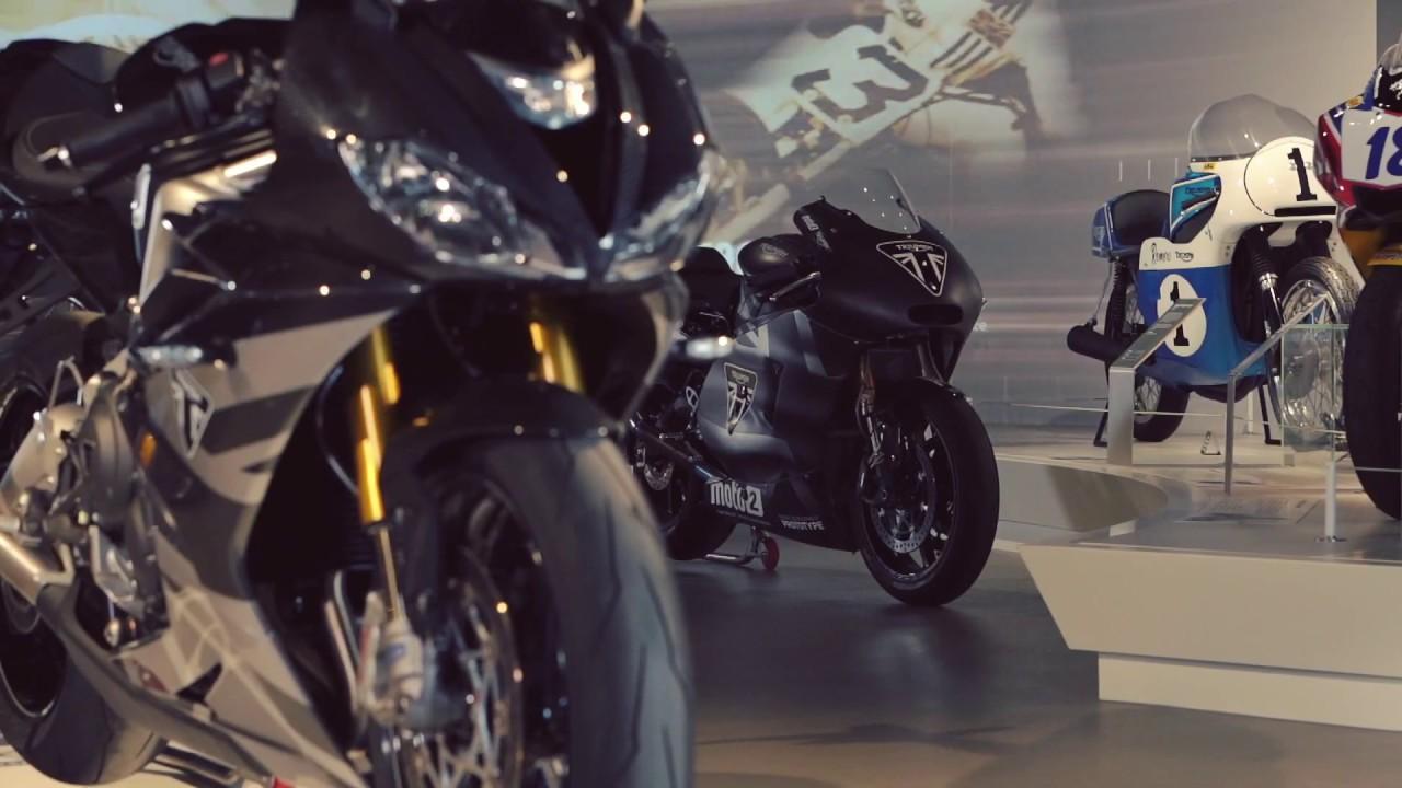 画像: Triumph Daytona Moto2 765 statics www.youtube.com