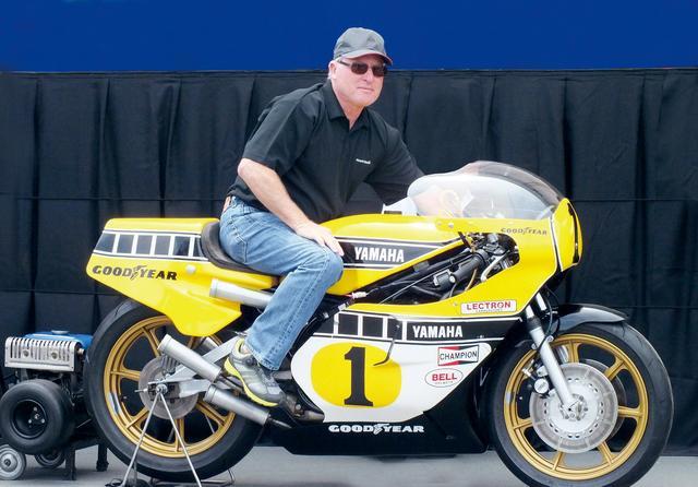 画像: 1978年のデビューイヤーから1980年まで、WGP500ccクラスを3連覇したケニー・ロバーツ。車両はYZR500(1978年式)。