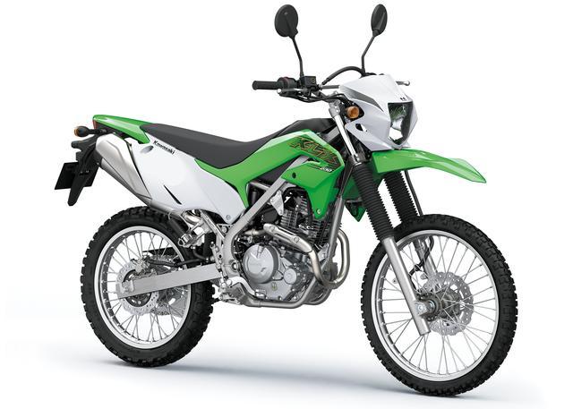 画像1: 待望のカワサキ製オフロードバイク「KLX230」を解説! 日本国内での発売予定日は10月15日(火)!