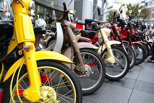 画像: カブファンの一大祭典! バイクで訪れるのもOKです!