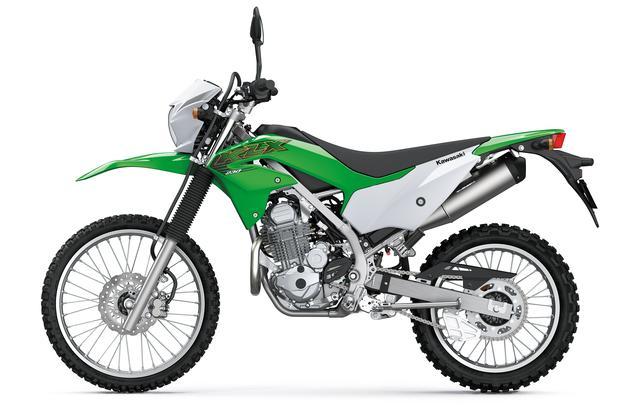 画像2: 待望のカワサキ製オフロードバイク「KLX230」を解説! 日本国内での発売予定日は10月15日(火)!