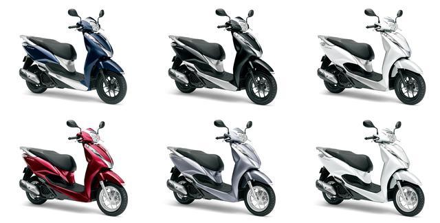 画像1: 【原付二種】ホンダ「リード125」の最新モデルが10月1日発売開始! カラバリは合計6色、あなたはどの色がお好きですか?