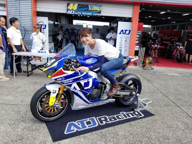 画像: 最近、お決まりになってきた 関口太郎選手のマシーン! #44 Team ATJ