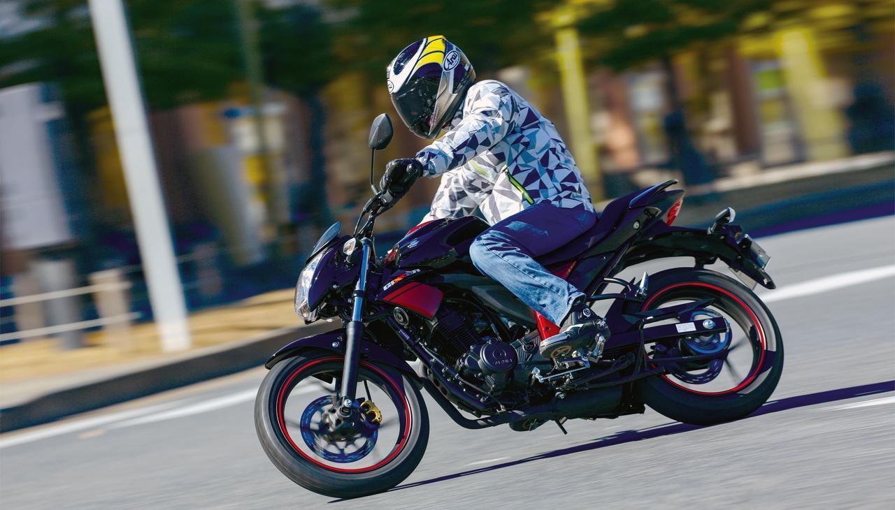 画像: <試乗インプレ>SUZUKI GIXXER(2017年) - webオートバイ