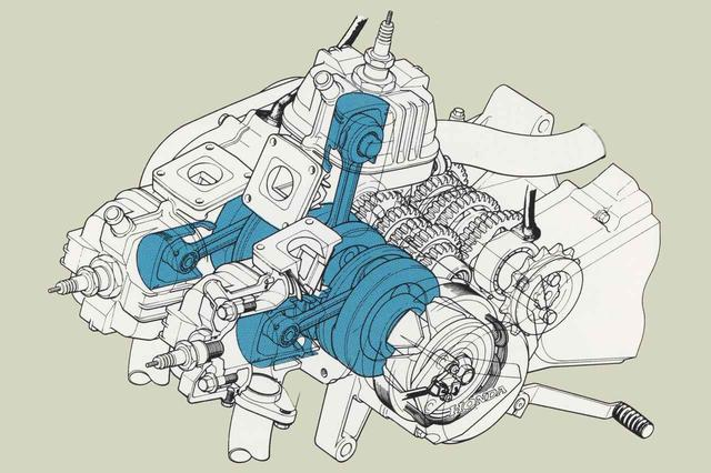 画像6: 16インチの前輪やインボードディスク、リアのモノショックなど車体はVTに通じる