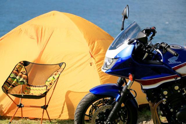 画像1: ホンダCB400スーパーボルドール/ツーリング能力の真価をキャンプ旅で問う!