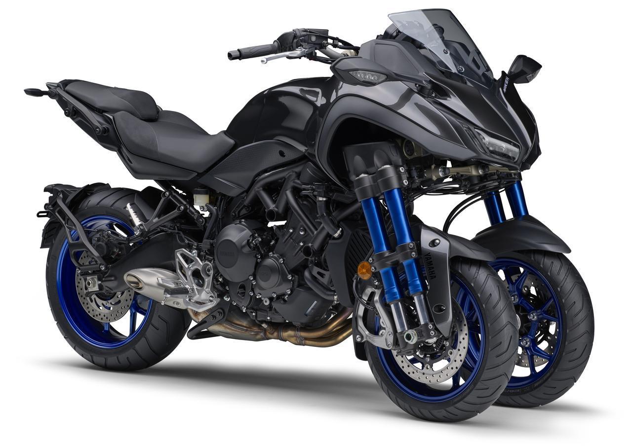Images : 5番目の画像 - 「「LMWアッカーマン・ジオメトリ」とは? 前二輪モデルの登場で生まれた新機構【現代バイク用語の基礎知識2019】」のアルバム - webオートバイ