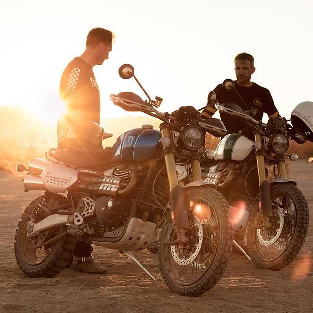画像: Scrambler 1200 シリーズ/1,200cc