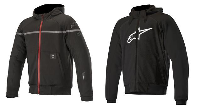 画像1: あなたはどっち派? アルパインスターズから気軽に着られるパーカースタイルのライディングジャケットが2種類、新登場!
